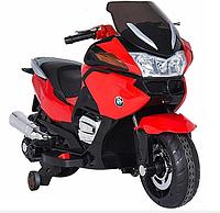 Детский электромобиль мотоцикл BMW R1200RT - HZB-118 красный