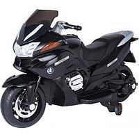 Детский электромобиль мотоцикл BMW R1200RT - HZB-118 черный