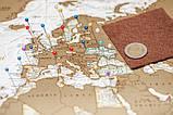 Скретч карта My Maps Antique edition в наборе для любимого человека In Love, фото 8