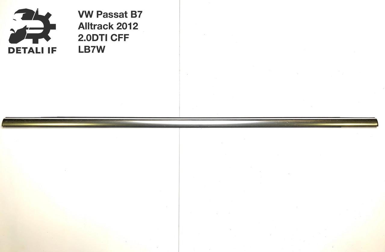 Молдинг хром двері задній лівий 3AF839476 Passat B7 Alltrack 2.0 DTI