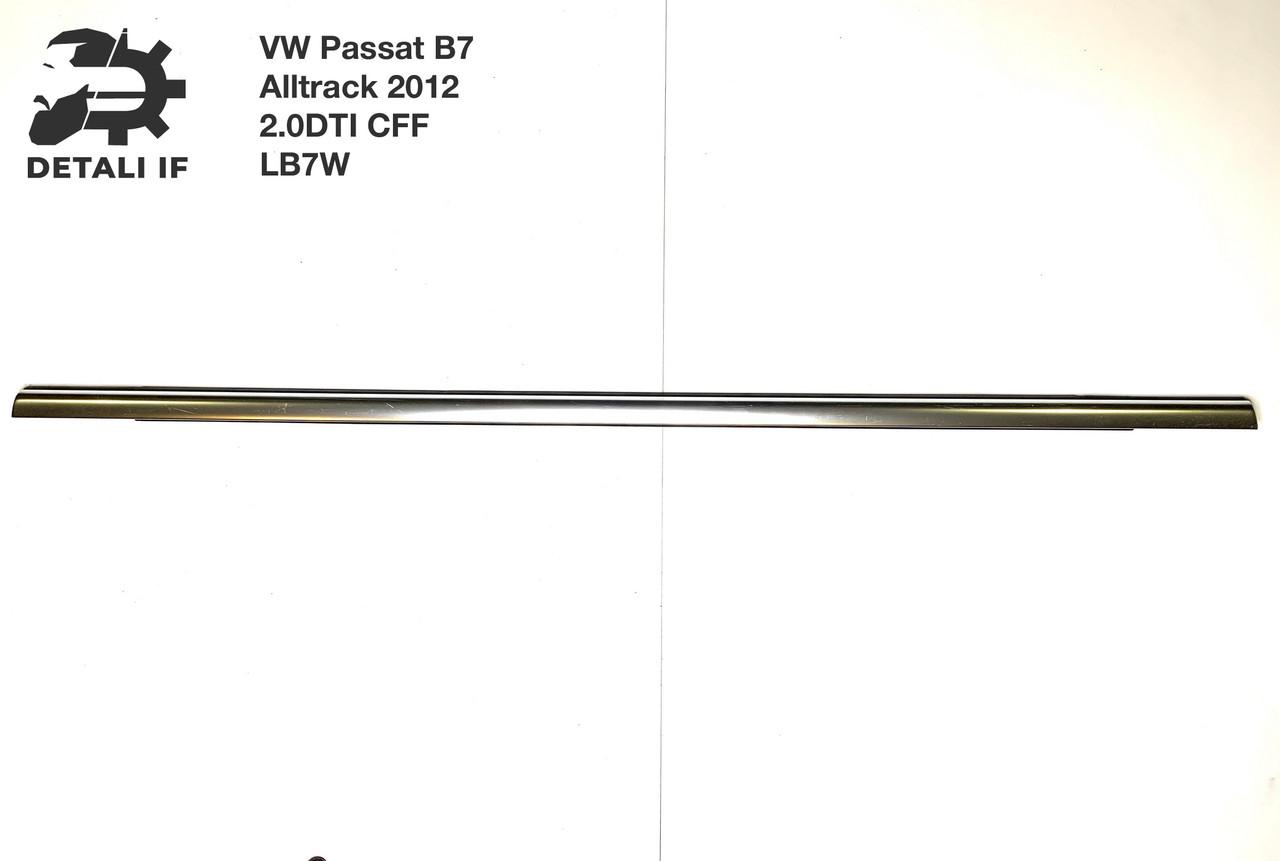 Молдинг хром двери задний правый 3AF839475 Passat B7 Alltrack 2.0DTI