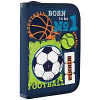 Пенал-книжка 1 Вересня 1 отд. без отв. HP-02 Football 532705