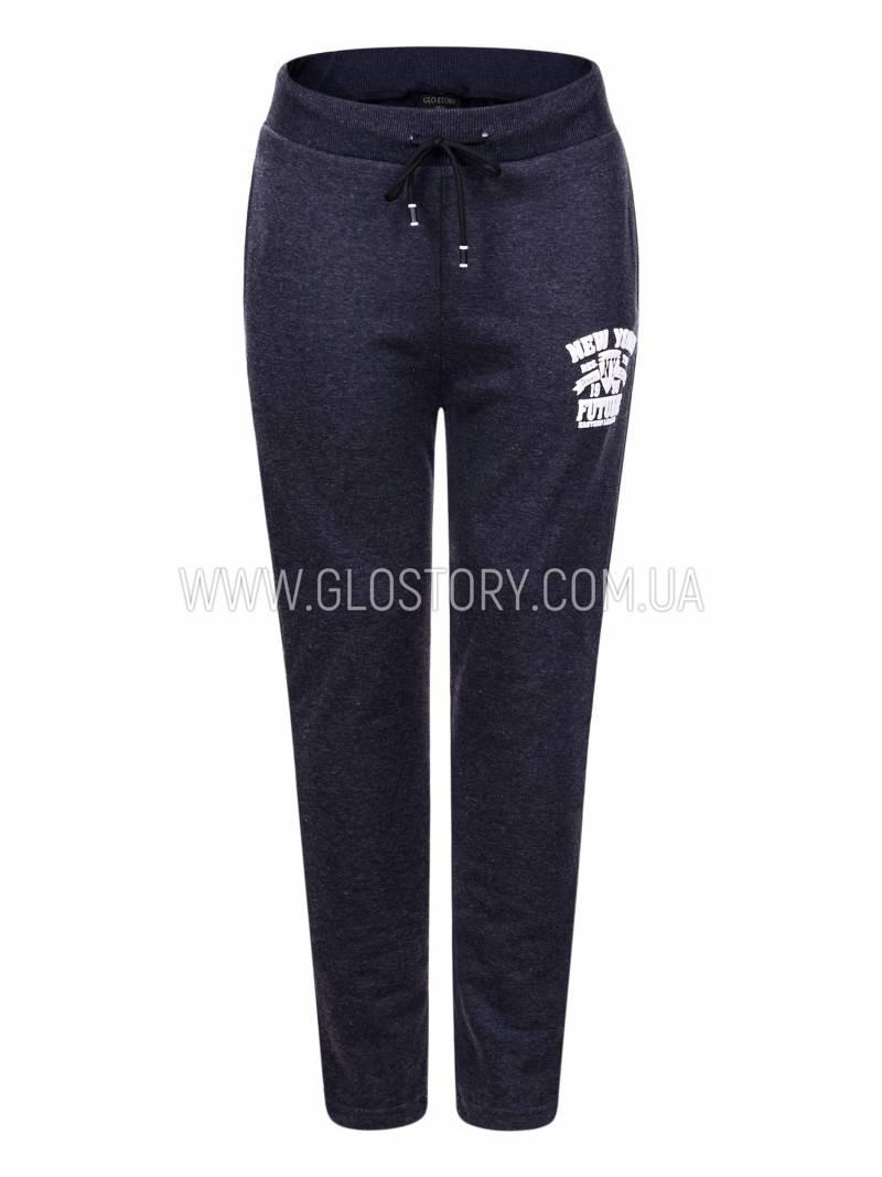 Мужские спортивные брюки на флисе большие размеры  Glo-Story