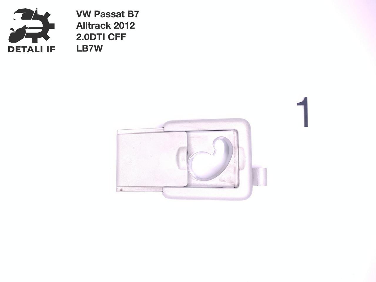Крепление сетки багажника №1 1T0861304M 3AF861280 Passat B7 Alltrack 2.0DTI