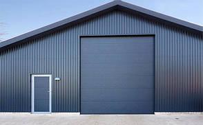Промышленные ворота Алютех Серии TREND,4200*3500 стандартный монтаж, фото 2