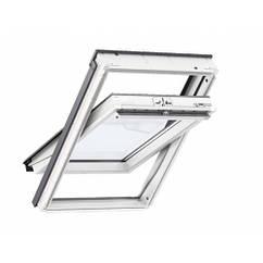 Velux GLU 0061 B Мансардне вікно двокамерне вологостійке ручка зверху або знизу Двокамерні вікна Велюкс ПВХ 94*140 см