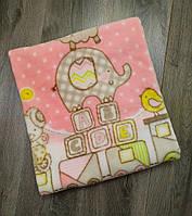 Конверт-одеяло для новорожденных весна-осень   Цвет розовый Турция