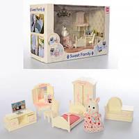 """Игрушечный набор мебели """"Спальня"""" с фигуркой Sweet family Sylvanian арт. 1606 F"""