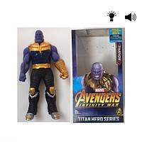 Игровая Коллекционная Фигурка игрушка Танос Война бесконечности : Мстители Thanos