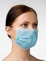 Маска косметологическа 3-трех-слойная (Только ОПТ)  для защиты дыхательных путей (не медицинская/мед.товар)