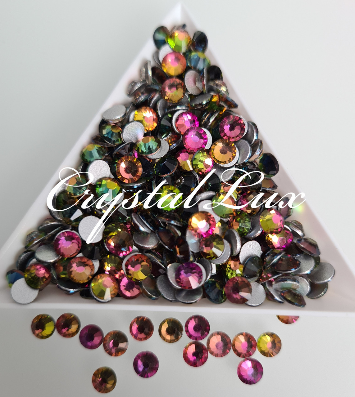 "Стразы ss16 Rainbow 100шт. (3,8-4,0мм) ""Crystal Premium"""