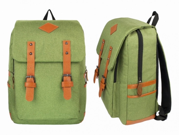 Рюкзак городской светло-зеленый Aicha