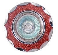 Точечный светильник MR16 612 A R  красный