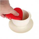 Губка силиконовая для мытья посуды, фото 3