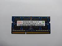 Оперативная память для ноутбука SODIMM Hynix DDR3 2Gb 1066MHz PC3-8500S (HMT125S6TFR8C-G7) Б/У, фото 1
