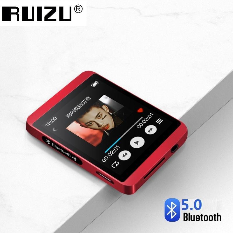 MP3 Плеер RuiZu M5 mini 8Gb Bluetooth HI-FI Original Красный