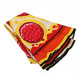 Пляжный коврик Пицца (Pizza) 143 см, фото 2