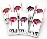 Матовая помада + карандаш Kylie True Brown K, фото 2