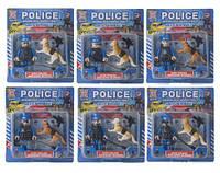 """Игрушечный набор """"Police Roadblock Inspection"""" с аксессуарами SB1011"""
