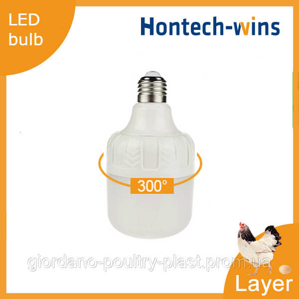 Освещение для курей несушек, LED лампа для птичника Е27 bulb