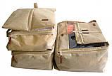 Набор дорожных сумок 5 шт (бежевый), фото 2
