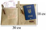 Набор дорожных сумок 5 шт (бежевый), фото 8