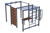 Оборудование для спортивных уличных площадок спортивный комплекс для детей от 14 лет WorkOut 1 440х380х240 см