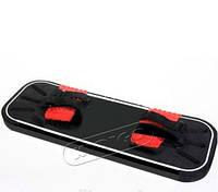 Аксессуар Спортивно-Игровой - Черный Борд для прыжков на батуте с крепежами для ног из ЭВА-материала 84х30х5см