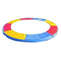 Аксессуар для спортивно-игровых батутов 244см разноцветное мягкое покрытие из вспененного материала для пружин