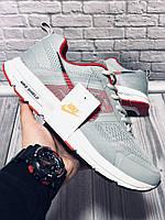 Кроссовки Мужские Nike (Найк) Air Shield,Light Grey/Red
