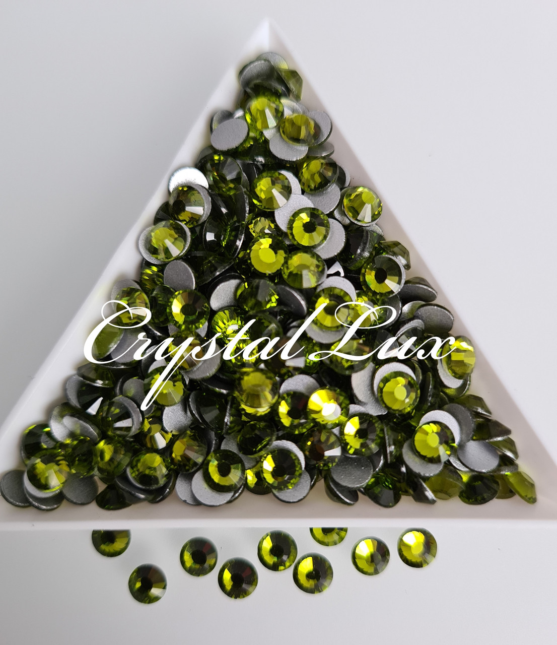 "Стразы ss20 Olivine, 1400шт. (4,6-4,8мм) ""Crystal Premium"""