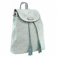 Рюкзак молодёжный YES YW-25, 17x28.5x15, мятный (555874)