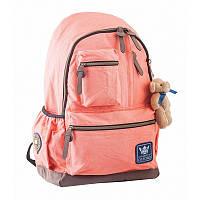 Рюкзак подростковый YES  OX 236, персиковый, 30x47x16 (554085)