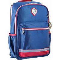 Рюкзак подростковый YES  OX 329, синий. 28x42x15 (554106)