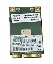 3G модем Ericsson F5321 для ноутбука Mini PCI Express Card (710788-001) бу