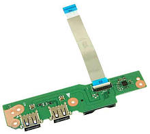 Asus V301L, Q301L, S301L Плата USB, Cardreader ( 60NB02Y0-IO1010-110) бо