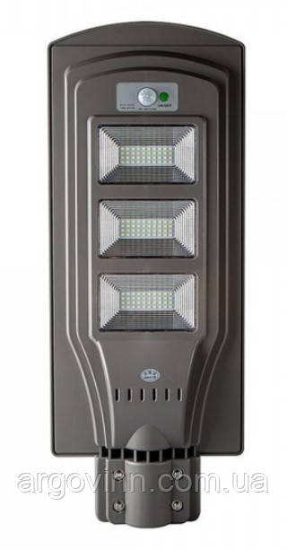 LED вуличний світильник на сонячній батареї  UNILITE 60W 6500К (VS-109547)