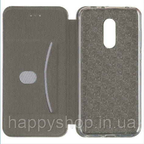 Чохол-книжка Gelius Leather для Meizu M6t (Чорний), фото 2