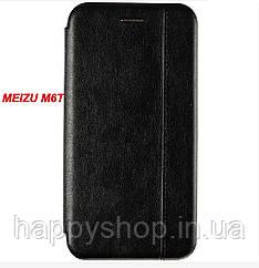 Чехол-книжка Gelius Leather для Meizu M6t (Черный)