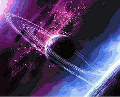 Картина по номерам Сквозь вселенную Q792 40x50 см., Mariposa