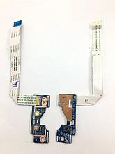 Доп. плата HP Zbook 15 Плата кнопка включения выключения wi-fi, звука (LS-9242P) бу