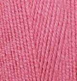 Пряжа Лана голд 800 Alize 359 темная роза