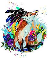 Картина по номерам Идейка КНО4018 Сказочные приключения 40х50см ідейка картины Животные, рыбы, птицы