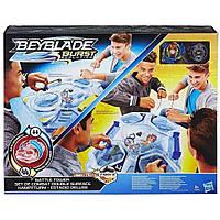 Детский игровой набор с волчками Башня для сражений арена Hasbro Bey Blade Бейблэйд Стадион Switchstrike