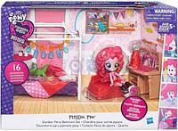 Детский Игровой Набор с Подвижной Мини-куклой для Девочек Спальня Пинки Пай Equestria Girls My Little Pony