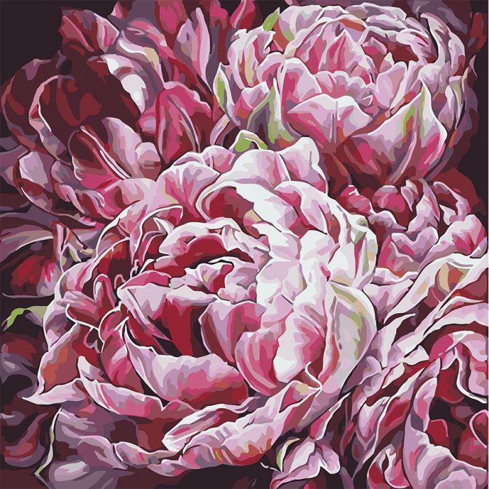 Картина по номерам Идейка КНО3014 Буйство красок 2 40х40см ідейка картины Цветы, фрукты, натюрморты, еда
