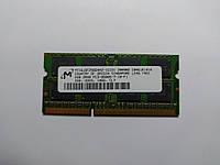 Оперативная память для ноутбука SODIMM Micron DDR3 2Gb 1066MHz PC3-8500S (MT16JSF25664HZ-1G1D1) Б/У, фото 1