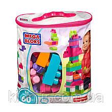 Конструктор Mega Bloks 60 деталей классический розовый DCH54