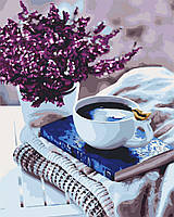"Картина по номерам.  ""Лавандовое утро"" 40х50см арт. КНО5580"
