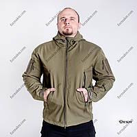 Тактическая Куртка Soft Shell ESDY TAC.-01 Olive непромокаемая, фото 1
